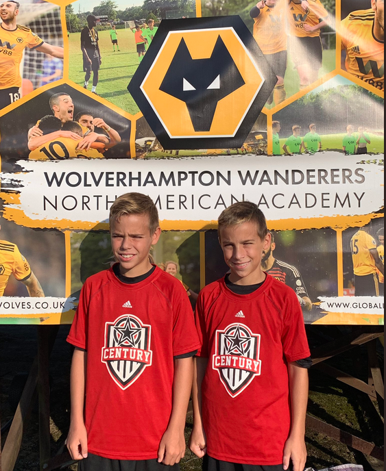 Century Players invited to Wolverhampton Wanderers Camp